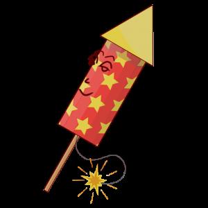 El famoso cohete