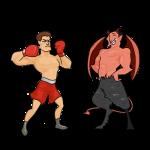 El Diablo y el boxeador