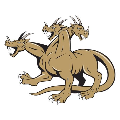 El dragón de muchas cabezas