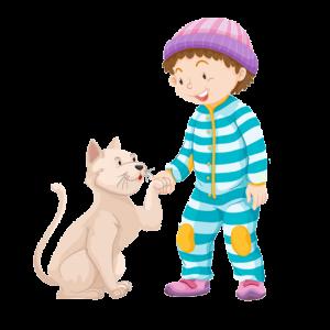 El niño más bueno del mundo y su gato Estropajo
