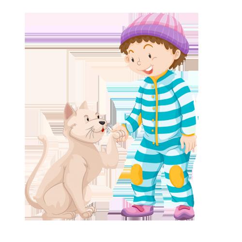 Cuento El niño más bueno del mundo y su gato Estropajo