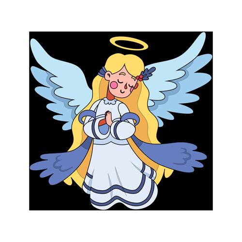 El niño que quería ver a su ángel