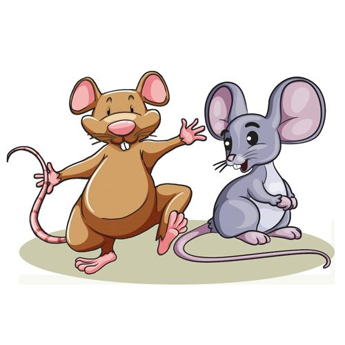 El ratón de campo y el de ciudad