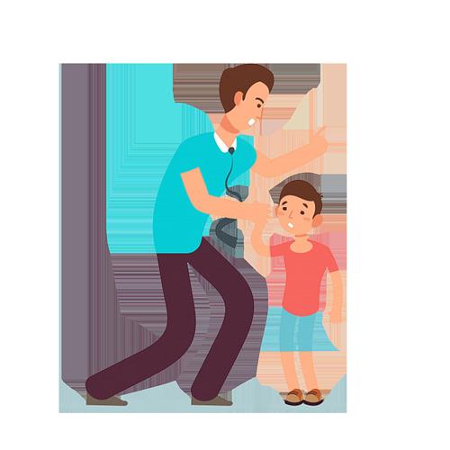 El niño y el maestro de escuela
