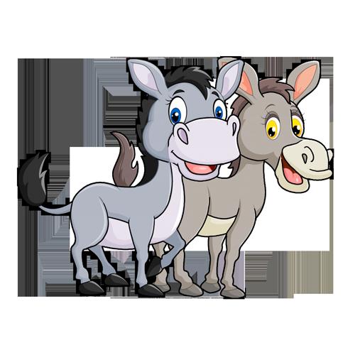 Los dos mulos