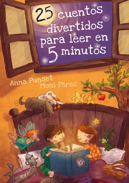 25 cuentos divertidos para leer en 5 minutos