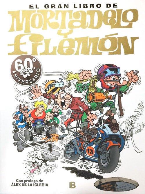 El gran libro de Mortadelo y Filemón: 60ª aniversario