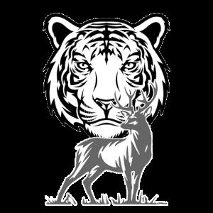 El tigre negro y el venado blanco