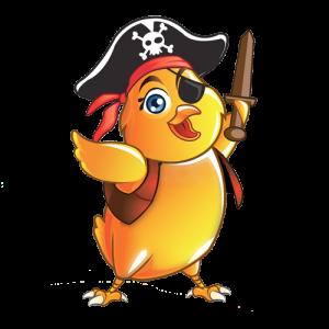 Tres piratas